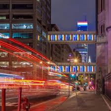 Bloomberg Building Lights