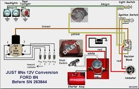 ford 8n 12 volt wiring diagram diy wiring diagrams \u2022 ford 8n electronic ignition wiring diagram ford 8n front mount distributor wi yesterday s tractors rh yesterdaystractors com ford 8n ignition wiring diagram ford 8n wiring harness diagram