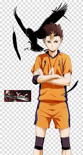 Haikyuu Render Yu Nishinoya Haikyuu Transparent Background