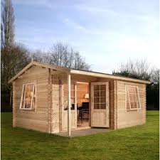 home office cabin. Mercia Home Office Executive Plus Log Cabin 6m X 5m