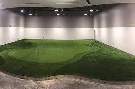 tour greens indoor putting greens rh tourgreens com basement golf green build basement putting green