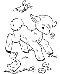 Farm Animals Coloring Pages Printable Colouring Freedishdthcom