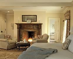 Long Bedroom Bench Long Soft Cozy Sofa Bench Rustic Bedroom With Fireplace Artistic