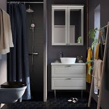 Useful Dark Grey Bathroom Furniture Ideas Ikea