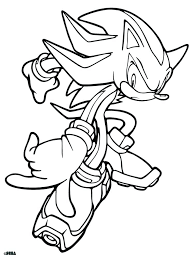 super sonic coloring pages super sonic coloring pages super sonic and super shadow coloring pages