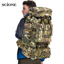 brand infeylay 55l camouflage mountaineering bags travel computer package large capacity waterproof men business backpack gift