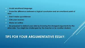 best tips to write argumentative essay 5 tips for your argumentative essay