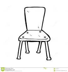 glancing cartoon school chair chair black with clipart clipartfest clipart chair black in black and white