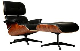 replica eames lounge chair and ottoman black. lounge chair and ottoman, black powder coating replica eames ottoman l