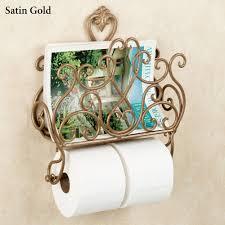 Toilet Paper Holder With Magazine Rack Aldabella Wall Magazine Rack with Toilet Paper Holder 44
