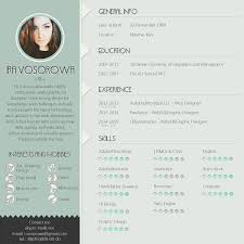 Free Resume Template Mint Design On Behance Curriculum Samples