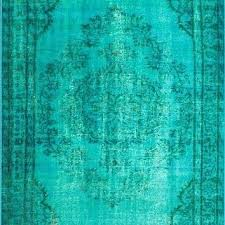 Green overdyed rug Modern Style Green Overdyed Rug Machine Made Vintage Inspired Rug Turquoise Simivalleygaragedoorrepairco Green Overdyed Rug Simivalleygaragedoorrepairco