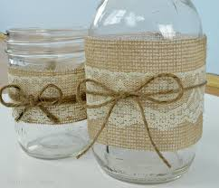 Decorating With Mason Jars And Burlap Decorating With Mason Jars And Burlap Mason Jar Centerpieces With 12