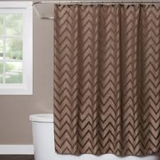 coral and brown shower curtain. saturday knight chevron shower curtain in brown coral and
