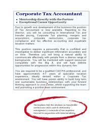 professional accounting postgraduate area of study degrees example job ad