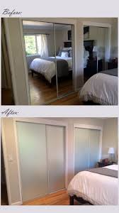 Mirror Closet Doors For Bedrooms 17 Best Ideas About Mirrored Closet Doors On Pinterest Closet