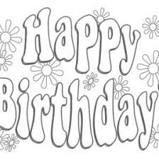 Free Printable Happy Birthday Coloring Pages Az Coloring Pages