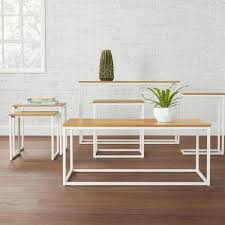 stylewell donnelly white metal nesting