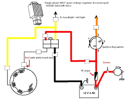 voltage regulator a summary techy at day blogger at noon and first and foremost the single phase the picture above illustrates a single system half wave regulation you can see that the one end of the stator is