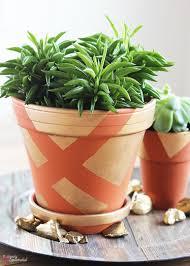 diy painted clay pots