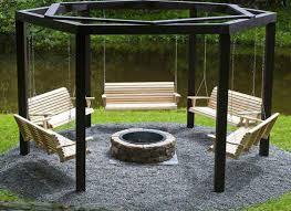 Backyard, Remarkable Gray Square Gravel Wood Stone Diy Backyard Ideas  Ornamental Gravel Design: Excellent