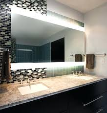 bathroom mirrors with lights. Big Mirror With Led Lights Large Bathroom Mirrors Copper Faucets White Surprising The Behind And Walls S