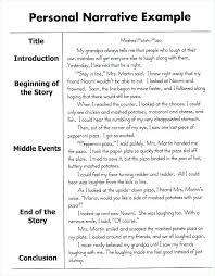 Personal Narrative Essay Example High School Free Short Narrative Essay Examples Story Essays About Love Personal