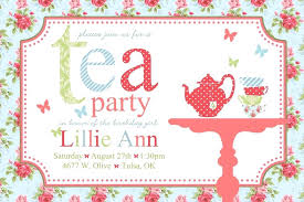 Tea Invitations Printable Mad Hatter Tea Party Birthday Invitations Hatters Free Download Clip
