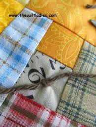 Knots Used In Quilting, Techniques and Tips for Tying Quilts ... & Tutorial on how to tie a quilt with yarn and a needle. Adamdwight.com