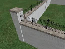 Second Life Marketplace Brick Wrought Iron Fence Builders Pack