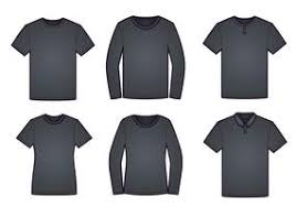 Black Template T Shirt Free Vector Art 1158 Free Downloads