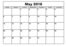 calendar for the month of may moon phases for may 2018 month