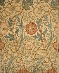 Motif Designs Wallpaper Pink And Rose William Morris 23 163 4a Work Of Art