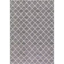 prestige ivory gray 5 ft x 7 ft area rug