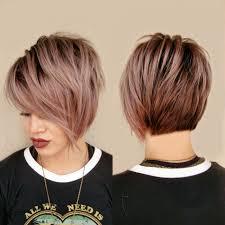 انواع قصات الشعر المدرج قصير