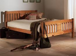 wooden king size bed. Simple Wooden Sedna 5u0027 Pine Wooden King Size Bed Frame  In I