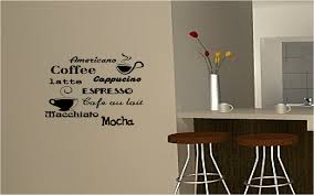 Wall Writing Decor Cool Vinyl Writing Sticker Wall Decals As Kitchen Wall Decor Added