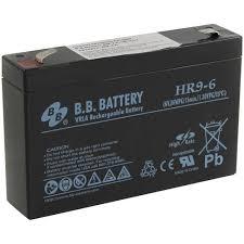 <b>Аккумулятор для ИБП</b> 6V 9Ah <b>B.B. Battery</b> HR9-6 — купить, цена и ...