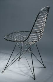 side chair charles eames ray eames work of art  side chair