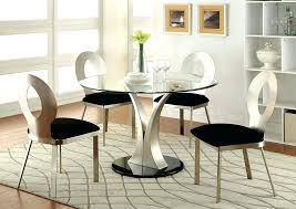 black round dining table silver and black round dining table w 4 side of black brown dining table ikea