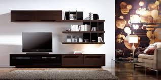Dark Brown Floating Shelves Unique Living Room Cute Image Of Modern Living Room Decoration Using Dark
