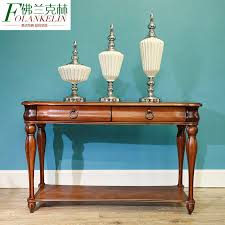 american style living room coffee table full of solid wood furniture retro rectangular side tables built furniture living room