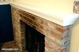 how to install a mantel shelf on a brick fireplace brick fireplace mantel shelf installing on