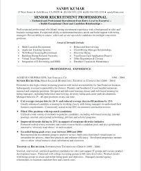 Recruiter Resume Template Impressive Director Of Recruitment Resume Templates Delijuice
