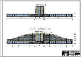 Управление процессом реконструкции гостинично торгового комплекса  1 Исходный фасад Проектируемый фасад