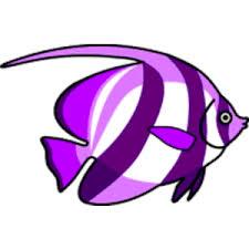 purple fish clip art. Interesting Clip Free Vector Clipart Purple Fish In Fish Clip Art I