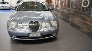 Light Blue Jaguar 2003 Jaguar S Type X202 Sport Light Blue 6 Speed Automatic Sedan