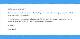Sending Resume Email Samples Email To Send Resume And Cover Letter Sample Email Format For