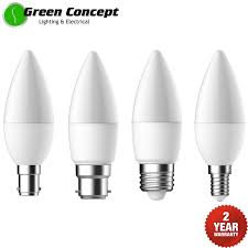 Mort Bay Lighting New 5 7w Dimmable Led Candle Light Globe Bulb E14 E27 B15 B22 Frosted Pearl