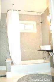 l shaped shower curtain l shaped shower rail lovely l shaped shower curtain rod with ceiling